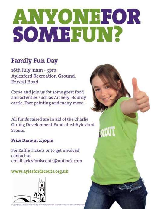 Family Fun Day - Sunday 16th July